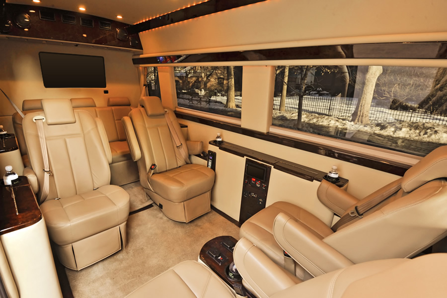 All Promaster Conversions Companies Seats